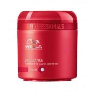 Brilliance - Mаска за блясък на боядисана гъста коса 150 ml