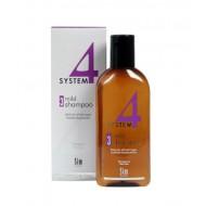 SYSTEM 4 - Шампоан №3 с климбазол за всеки тип коса 215 ml